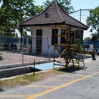 Photo taken at Smoking Area @ PT. Aneka Gas Industri V Jatim by David T. on 12/5/2011