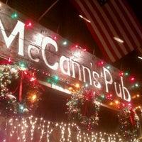 Photo taken at McCann's Pub by David M. on 12/3/2011