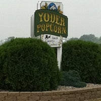 Photo taken at Yoder Popcorn by Derek J. on 7/19/2011