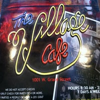 Photo taken at The Village Cafe by Nic M. on 6/29/2012