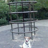 Photo taken at Central Park - Pat Hoffman Friedman Playground by Jonathan H. on 10/9/2011