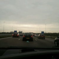 Photo taken at A9 (Hoofddorp-West) by Denis C. on 9/21/2011