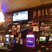 Photo taken at Phil's New York Deli & Tavern by Mayra S. on 4/18/2012