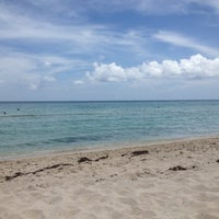 Photo taken at The Beach At 3rd by ThankYouMiami on 8/18/2012