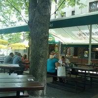 Photo taken at Restaurant Na Květnici by David on 6/19/2012