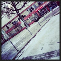 Photo taken at Edmondson High School by Andrew S. on 2/1/2013