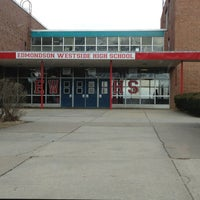 Photo taken at Edmondson High School by Andrew S. on 3/8/2013
