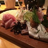 Photo taken at sushiかっぽう藤家 by Atsushi H. on 6/14/2015