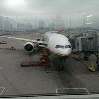 Photo taken at BR870 HKG-TPE / EVA Airways by Tobias V. on 4/7/2014