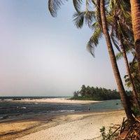 Photo taken at Ashwem Beach by Prabhu Jap S. on 3/2/2013