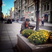 Photo taken at Bolshaya Dmitrovka Street by Prabhu Jap S. on 9/9/2013