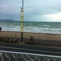 Photo taken at Acqua Beach by Nada H. on 3/29/2013