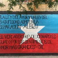 Photo taken at Graffiti Hall Of Fame by Beatriz Z. on 7/1/2017