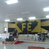 Photo taken at Igreja Evangélica Assembléia de Deus by Suzana F. on 6/16/2014
