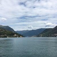 Photo taken at Lungolago di Cernobbio by Sinem T. on 9/4/2017