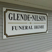 Photo taken at Glende-Nilson Funeral Home by Kelly J. on 7/28/2013