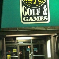 Photo taken at Golf & Games by Paul O. on 11/15/2012