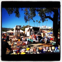 Photo taken at Rose Bowl Flea Market and Market Place by Evan D. on 10/14/2012