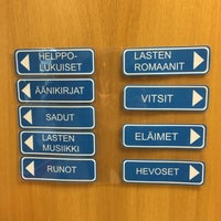 Photo taken at Saunalahden kirjasto by Aleksandr V. on 8/16/2017