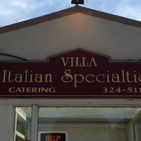 Photo taken at Villa Italian Specialties by Kat U. on 7/7/2013