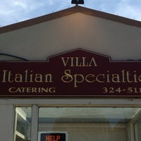 Photo taken at Villa Italian Specialties by Kat U. on 8/26/2014