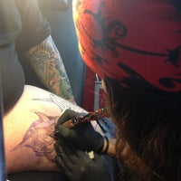 Photo taken at Kelly's ink tattoo by Petros M. on 4/6/2013