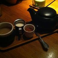 Photo taken at Samovar Tea Lounge by Emma S. on 4/6/2013