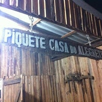 Photo taken at Piquete Casa do Alegrete by Vitória B. on 9/8/2013