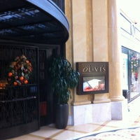 Photo taken at Todd English's Olives by Rick W. on 12/18/2012