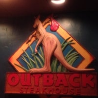 Photo taken at Outback Steakhouse by George M. on 12/4/2012
