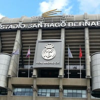 Photo taken at Santiago Bernabéu Stadium by JayD D. on 11/29/2012