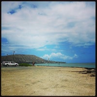 Photo taken at Maunalua Bay Boat Ramp by Samson M. on 6/16/2013