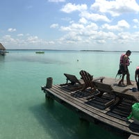 Photo taken at Bacalar by Carl T. on 4/25/2017