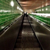 Photo taken at Metro Rato [AM] by Joao P. on 12/27/2012