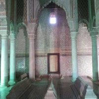 Photo taken at Saadian Tombs by Ayhan H. on 12/14/2012