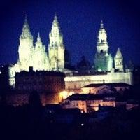 Photo taken at Catedral de Santiago de Compostela by Ayhan H. on 6/29/2013