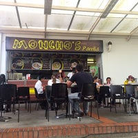 Photo taken at Moncho's Parrilla by Jaime L. on 7/20/2013