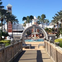 Photo taken at Hilton Grand Vacations at SeaWorld by Shwen on 12/27/2012