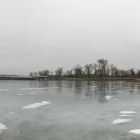 Photo taken at N P Dodge Park Marina by Goga on 1/15/2017