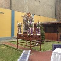 Photo taken at Rectorado Universidad Inca Garcilaso de la Vega by Alonso H. on 10/3/2012
