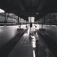 Photo taken at Yellow Line - Buendia Station by Titanium R. on 1/4/2013