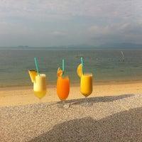 Photo taken at Baan Tai Beach by Jane M. on 1/9/2013