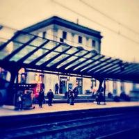 Photo taken at Bahnhof Zürich Stadelhofen by Donat D. on 10/22/2012