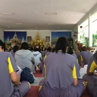 Photo taken at วัดป่ากู่แก้ว by Anchaya S. on 11/19/2016