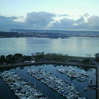 Photo taken at Marriott Marquis San Diego Marina by DiningOutSD on 11/17/2012