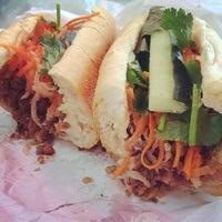 Photo taken at Saigon Vietnamese Sandwich Deli by Cindy T. on 10/24/2014