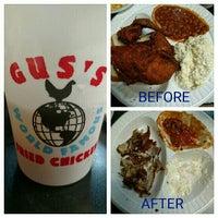 Photo taken at Gus's World Famous Fried Chicken by Shannon V. on 8/2/2015