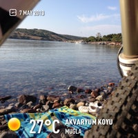 5/7/2013 tarihinde Eray Y.ziyaretçi tarafından Akvaryum Koyu'de çekilen fotoğraf