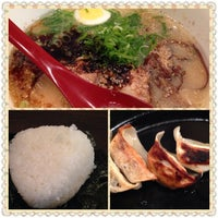 Photo taken at ラーメンく~た イオンタウン防府店 by hassi_ c. on 5/21/2014
