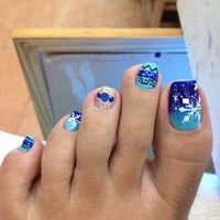 Photo taken at Nails Village by Jeanette N. on 11/7/2014